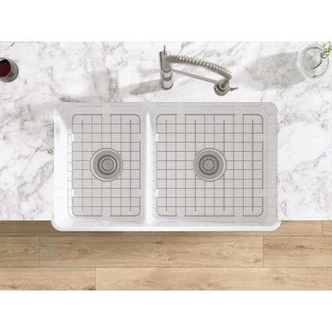 LaToscana Stainless Steel Grid For Large Side of Sink LTD3319W