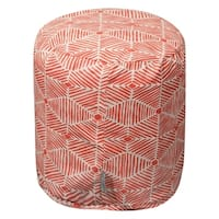 """Majestic Home Goods Charlie Indoor Ottoman Pouf 16"""" L x 16"""" W x 17"""" H"""