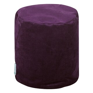 """Majestic Home Goods Villa Collection Indoor Ottoman Pouf 16"""" L x 16"""" W x 17"""" H"""