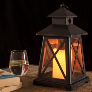Lantern w/ LED Yellow Light-Battery Operated