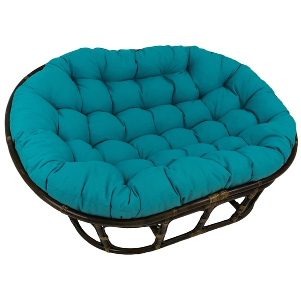 International Caravan Bali Double Papasan Chair With Cushion