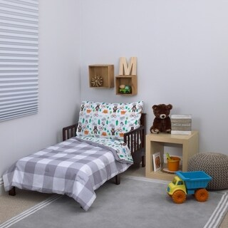 Carter's Woodland Boy 4pc Toddler Bed Set