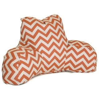 Majestic Home Goods Chevron Reading Bed Pillow 33 X 6 X 18
