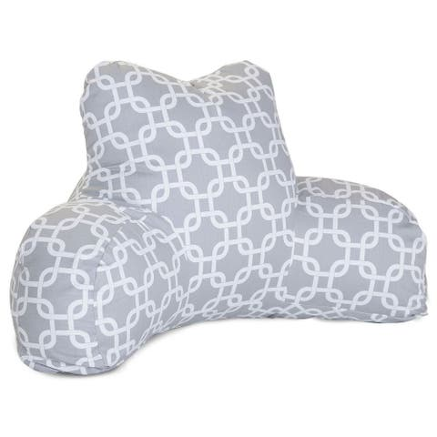Majestic Home Goods Links Reading Bed Pillow 33 X 6 X 18