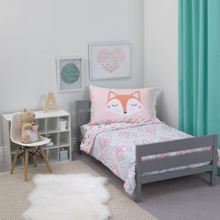 Carter's Woodland Girl 4pc Toddler Bed Set
