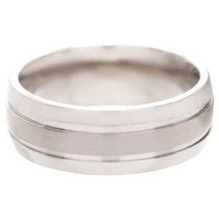 Men's Titanium Corrosion-Resistant Polished Band (8 mm)