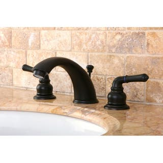 bronze bathroom faucets. Oil Rubbed Dark Bronze Widespread Bathroom Faucet Faucets For Less  Overstock com