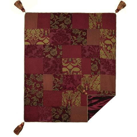 Renaissance Patchwork Hand Pieced Throw