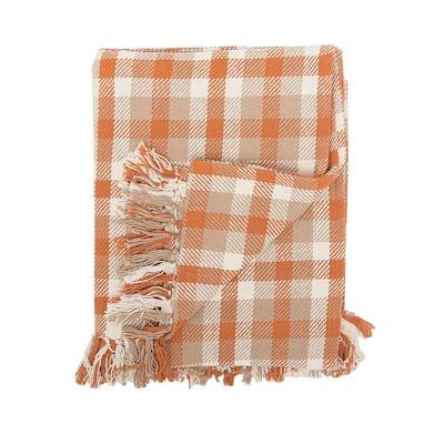 Longmont Woven Plaid Throw Blanket