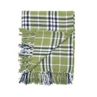Haven Plaid Woven Throw