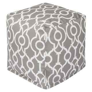 Majestic Home Goods Athens Indoor / Outdoor Ottoman Pouf Cube