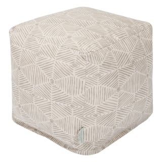 Majestic Home Goods Charlie Indoor Ottoman Pouf Cube