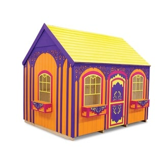 Handcrafted and furnished playhouse Sassy Sally (6x8 ft)