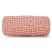 Majestic Home Goods Indoor Outdoor Towers Round Bolster Decorative Throw Pillow