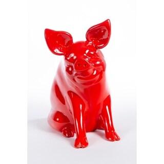 Handmade Decorative Ceramic Pig (5 options available)