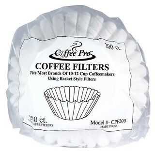 Coffe Pro CPF200 Coffee Filter - 12 Cup Drip Size