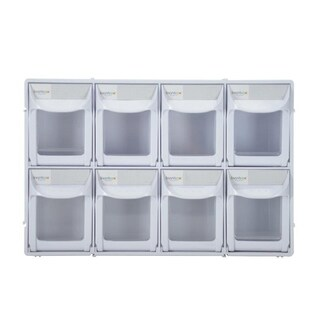 "Tip Out Bin 12"" w/ 8 Compartments"