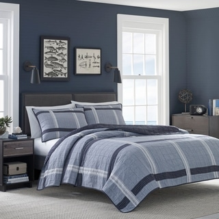 Link to Nautica River Breeze Quilt Similar Items in Quilts & Coverlets