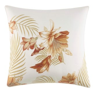 Tommy Bahama Loredo Gardens Embroidered Throw Pillow