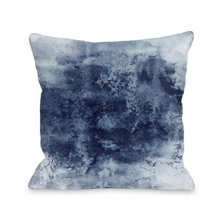 Epoch 7  - Gray  Pillow by Julia Di Sano