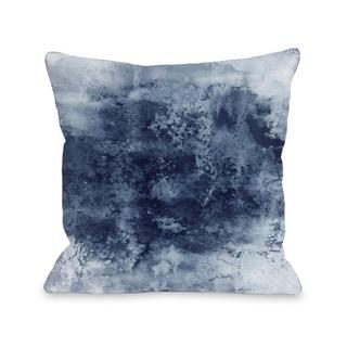 Epoch 7  - Gray  Pillow by Julia Di Sano