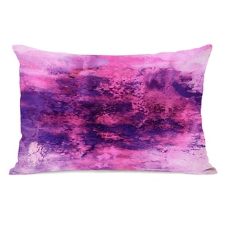 Epoch 5  - Pink 14x20 Pillow by Julia Di Sano