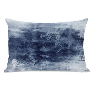 Epoch 7  - Gray 14x20 Pillow by Julia Di Sano