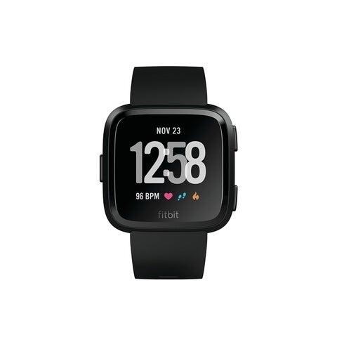 Fitbit Versa Smartwatch Black/ Black Aluminum