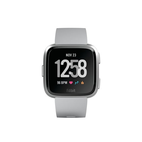 Fitbit Versa Smartwatch Gray/ Silver Aluminum