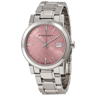 Burberry Women's BU9124 'Medium Check' Stainless Steel Watch