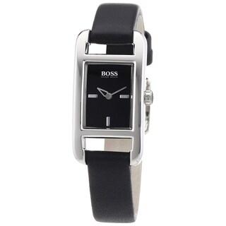 Hugo Boss Women's Black Leather Watch