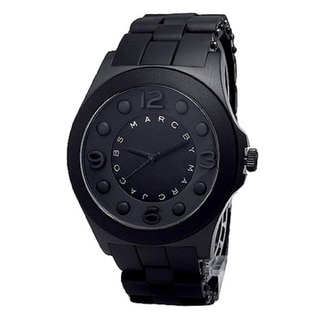 Marc Jacobs Women's  'Pelly' Black Silicone Watch