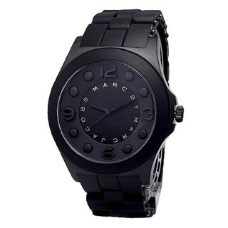 Marc Jacobs Women's MBM2531 'Pelly' Black Silicone Watch