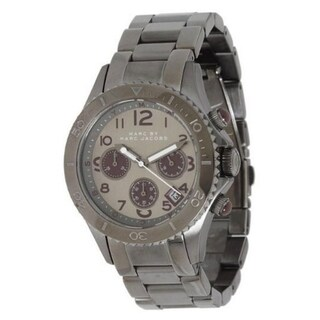 Marc Jacobs Women's 'Rock' Chronograph Stainless Steel Watch