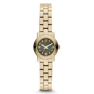 Marc Jacobs Women's 'Amy' Gold-Tone Stainless Steel Watch