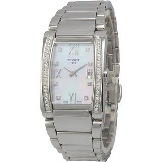 Tissot Women's 'Generosi-T' Diamond Stainless Steel Watch