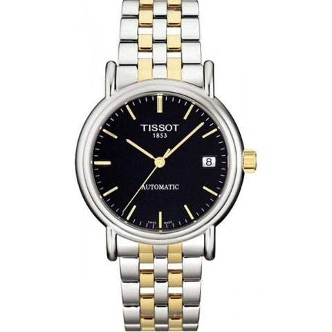 Tissot Women's 'Carson' Automatic Two-Tone Stainless Steel Watch