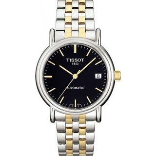 Tissot Women's T95218351 'Carson' Automatic Two-Tone Stainless Steel Watch