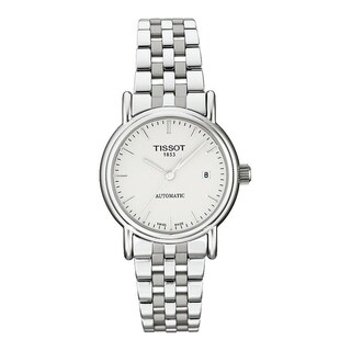 Tissot Women's T95118331 'Carson' Automatic Stainless Steel Watch