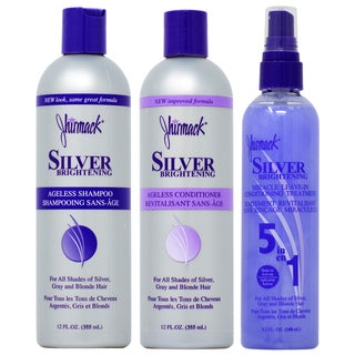 Jhirmack Silver Brightening Ageless 3-piece Hair Care Set
