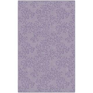 """Brumlow Mills Bella in Lavender, Floral Area Rug PURPLE - 2'6"""" x 3'10"""""""