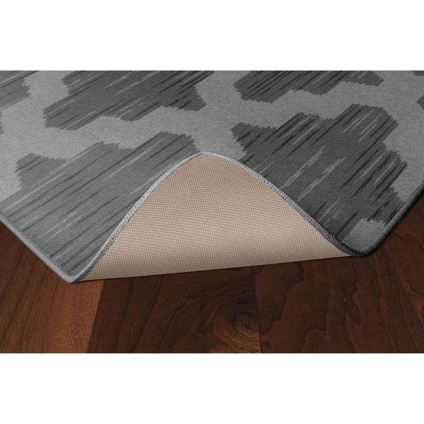 Brumlow Mills Ikat Moroccan Trellis In Gray Lattice Area Rug 3 4 X 5 On Free Shipping Today 22276898