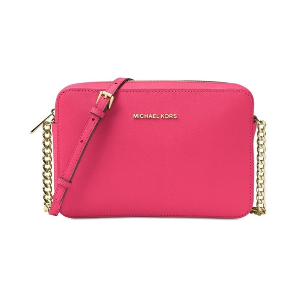 893d556cf4d5 Shop MICHAEL Michael Kors Jet Set Travel Large Crossbody Rose Pink ...