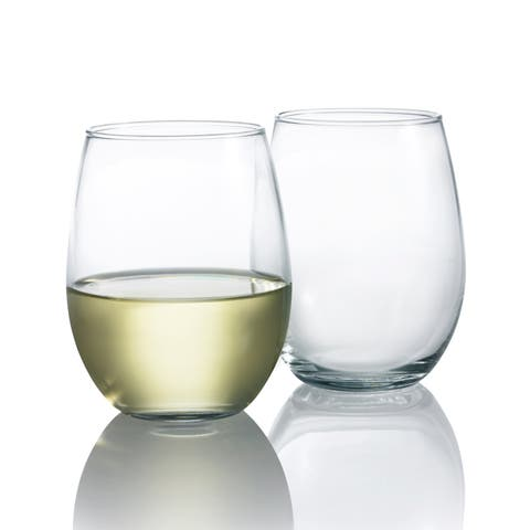Luminarc Cachet Stemless Wine Glass, Ser of 4, 15 ouncs