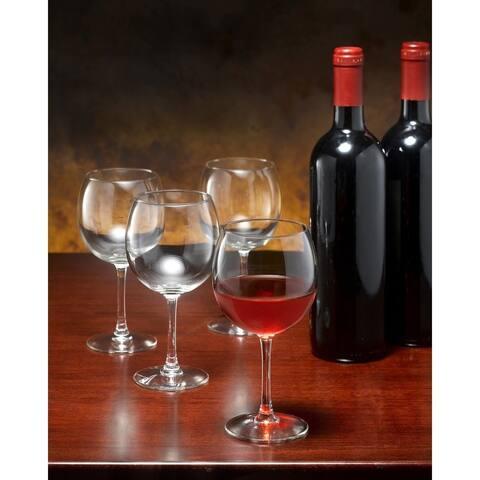 Luminarc Alto Goblet Glass, Set of 12, 12 ounces