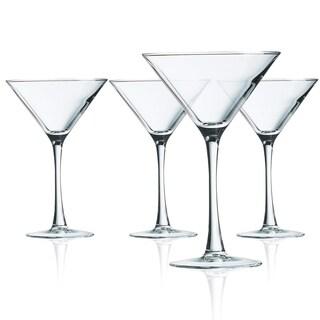 Luminarc Cachet Martini Glasses, Set of 4, 10 ounces - 10 ounces