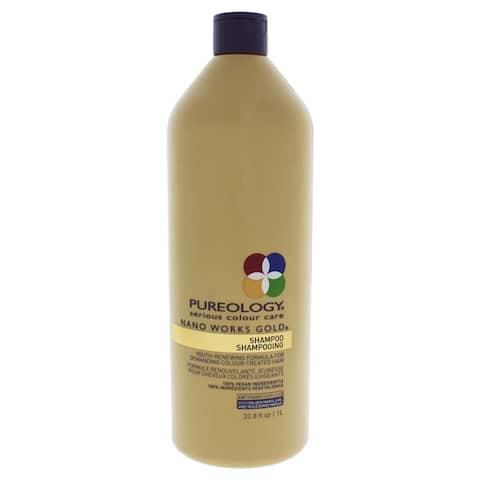 Pureology Nano Works 33.8-ounce Gold Shampoo