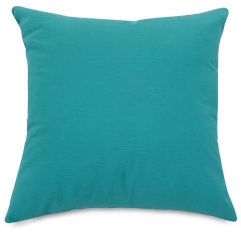 """Majestic Home Goods Solid Indoor / Outdoor Large Pillow 20"""" L x 8"""" W x 20"""" H"""