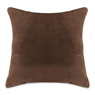 Majestic Home Goods Faux Suede Extra Large Throw Pillow 24 X 24