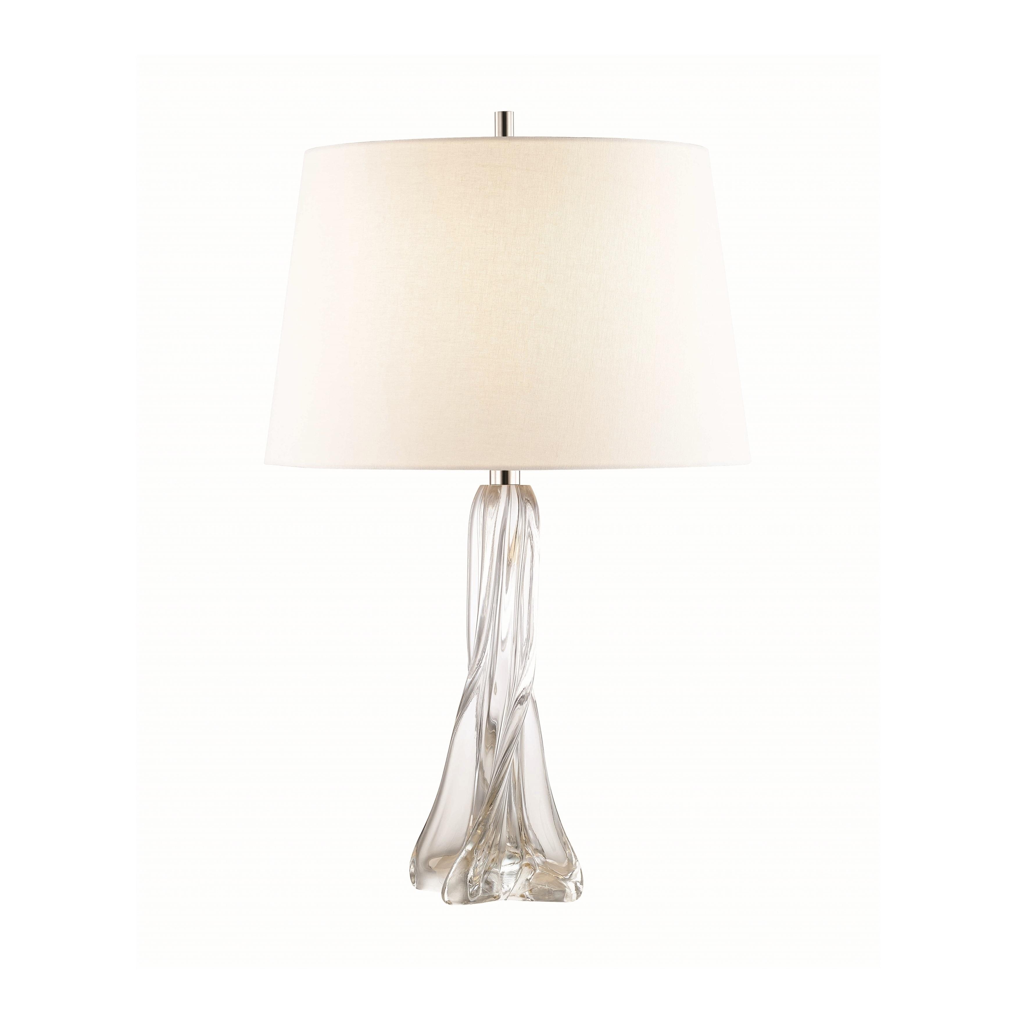 Archer 1 Light Clear Table Lamp